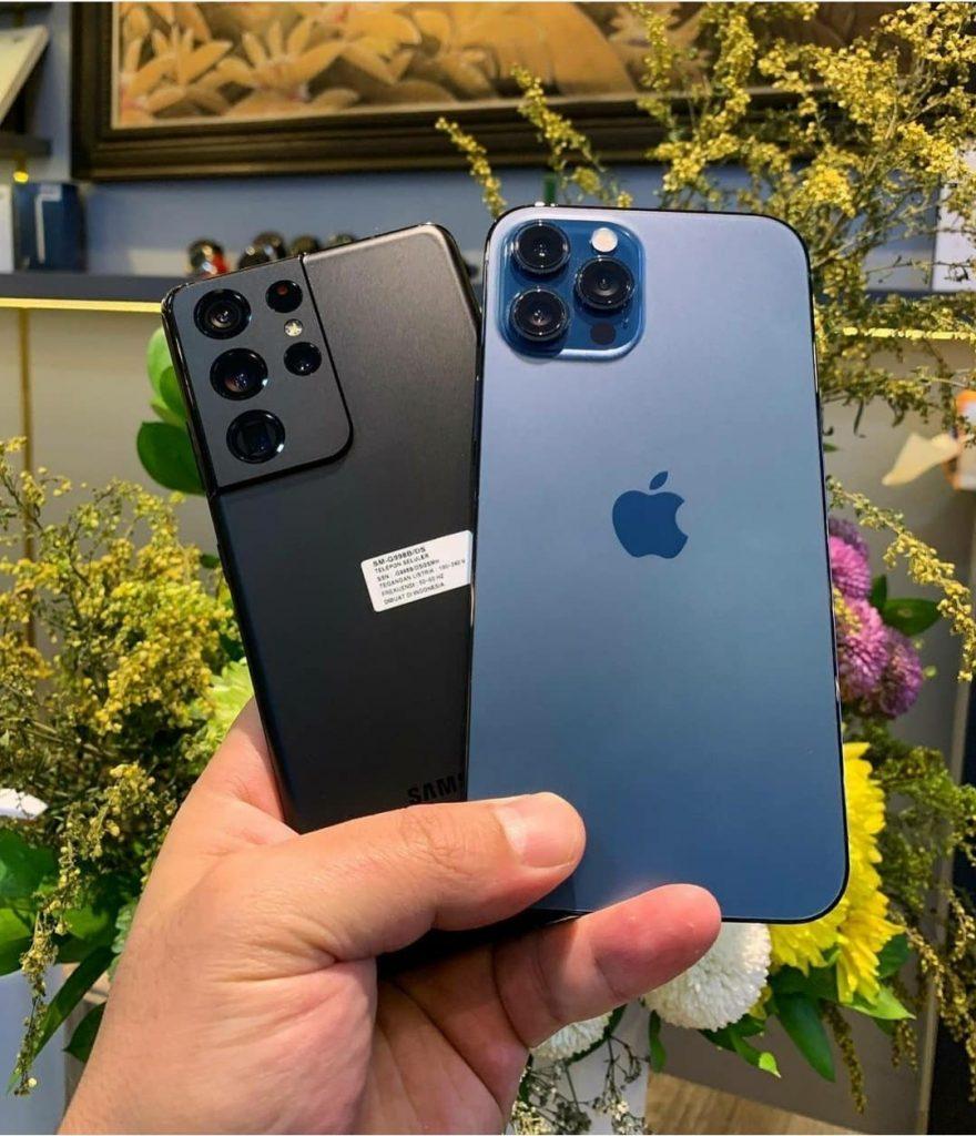 OTTO MAGAZIN, review s21 ultra vs iphone 12 pro max